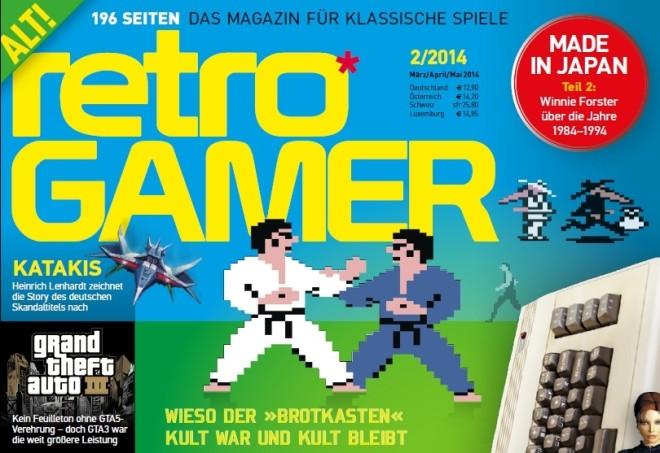 Retro Gamer cover